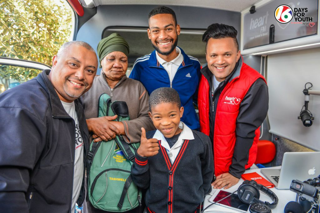 This morning young Aubrey Meyer told us about his quest to get to Pretoria to get new blades fitted. HeartBreakfast sponsored his flights and accomodation to get him there safely